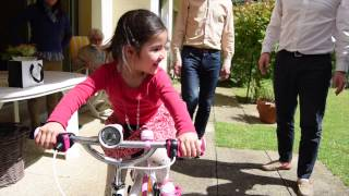 Emilie bicycle for her birthday