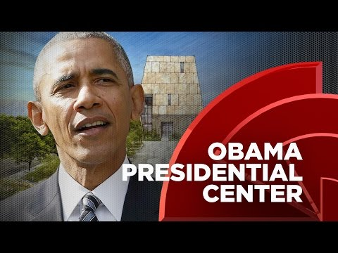 Former President Obama Unveiled The Design Of His Presidential Center In Chicago