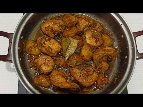 HOW TO COOK FILIPINO CHICKEN ADOBO WITH POTATOES | Adobong Manok with Patatas :: #145