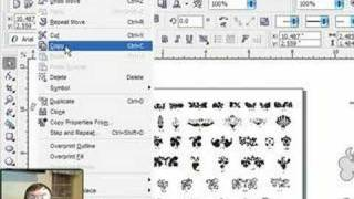 Easy Scroll Saw Patterns In Corel Draw Using Clip Art