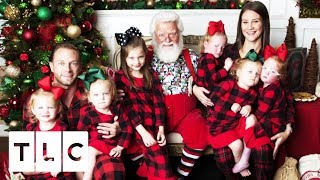 The Quints Break Down In Tears When They Meet Santa!   Outdaughtered