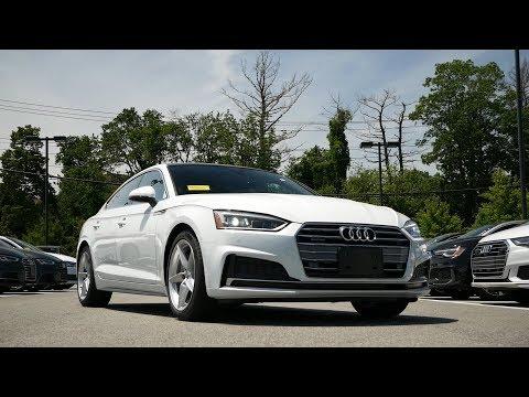 2019 Audi A5 Sportback Premium Plus Review - Start Up, Revs, and Walk Around