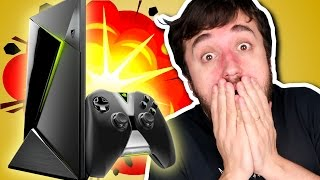 CONSOLE NOVO!? - Nvidia Shield TV