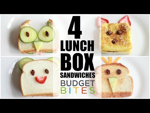 FOUR Lunchbox Sandwiches | Budget Bites | Coupons.com