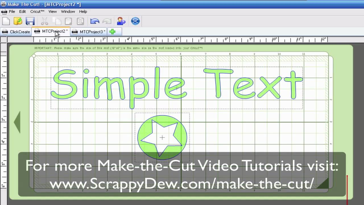 Make The Cut >> Make The Cut Software Break Split Layer Tutorial