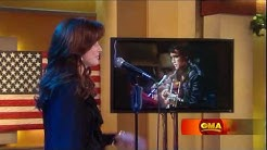 Martina McBride Performs Blue Christmas On Good Morning America