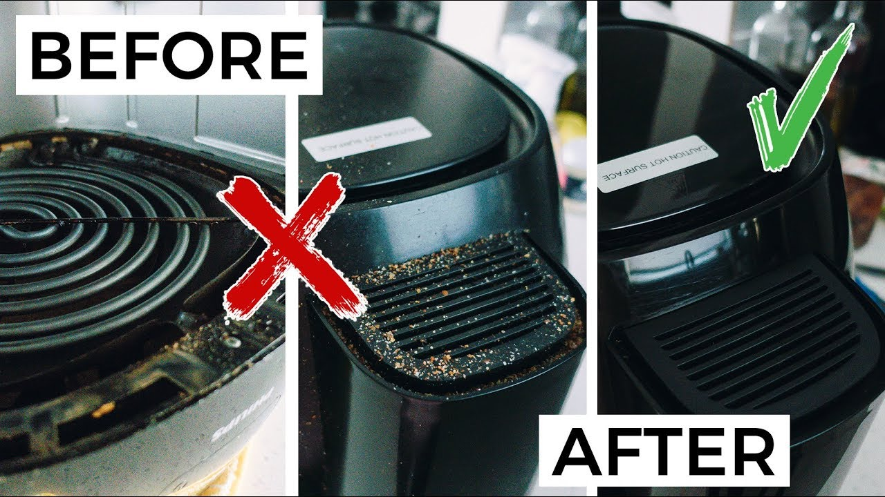 How to Clean a Philips Air Fryer  Cleaning & Maintenance