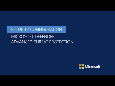 Security Configuration In Microsoft Defender ATP