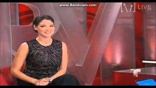 Blanca Soto en Al Rojo Vivo - Telemundo 2014