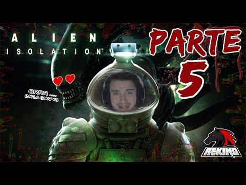 Lo acabaremos hoy?!?! Alien: Isolation - Jueves de terror! #5