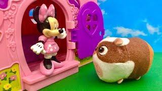 Myszka Minnie i Świnka Morska  Jestem głodna  Bajka dla dzieci PO POLSKU