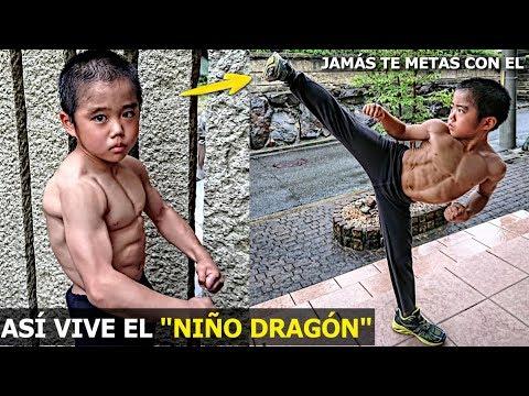 ASÍ VIVE RYUSEI 'EL NIÑO DRAGÓN' DE 9 AÑOS, JAMÁS TE METAS CON EL