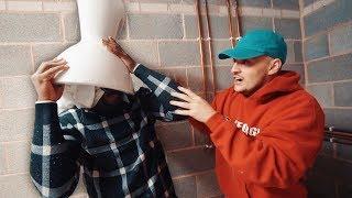 I glued my head inside a toilet with a HOT GLUE GUN (emergency services didn