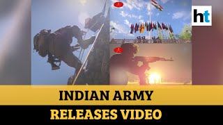 Kargil Vijay Diwas: Indian Army puts out video showcasing valour of soldiers