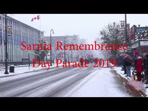 Sarnia Remembrance Day Parade 2019
