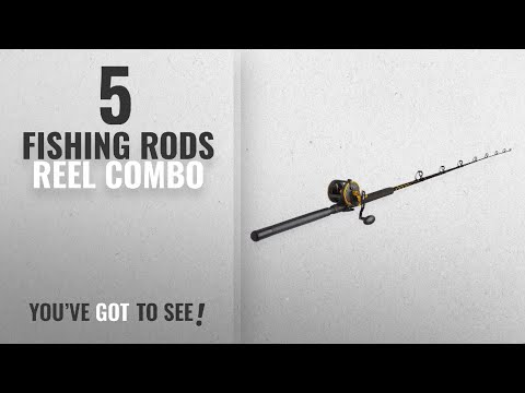 Top 10 Reel Combo FishingRods [2018]: Penn Squall 30 Level Wind Fishing Rod And Trolling Reel