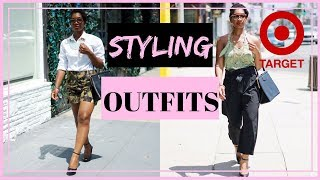 Styling Outfits from Target for 30 somethings |  WHO WHAT WEAR + MORE | BUDGET FASHION OVER 30 |