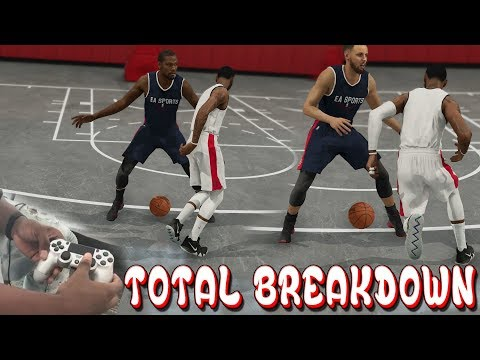 NBA Live 19 TOTAL Dribbling tutorial WITH Hand CAM! SHAMGOD, NUTMEG & MORE!