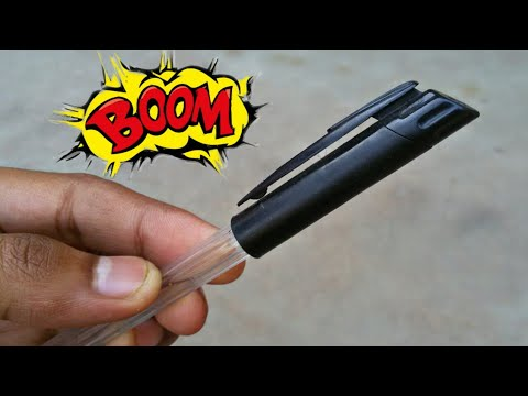 Secret item within pen | New prank trick with pen 2018