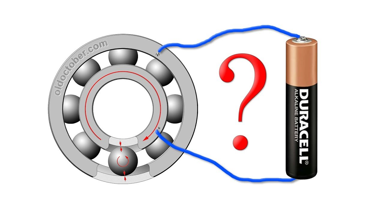Amazing ball bearing motor diy part 1 youtube for Red wing ball bearing ac motor
