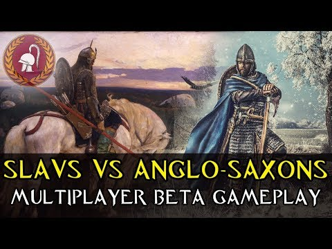 1vs1 Slavs VS Anglo-Saxons  - Ancestors Legacy Multiplayer Closed Beta Gameplay (No Commentary)