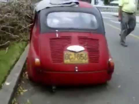 Carros abandonados en Colombia - Fiat