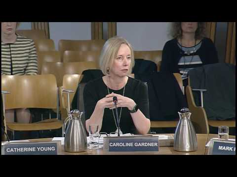 Public Audit and Post-Legislative Scrutiny Committee - Scottish Parliament: 16th March 2017
