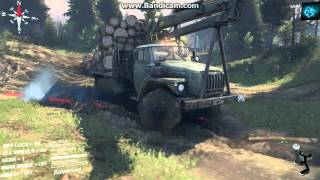 SpinTires 2015 Zil drive GAMEPLAY