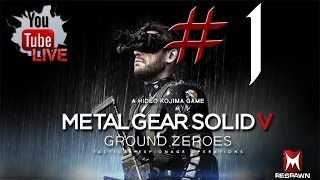 Metal Gear Solid V: Ground Zeroes - gameplay español - Parte 1- Vaya soldados!!