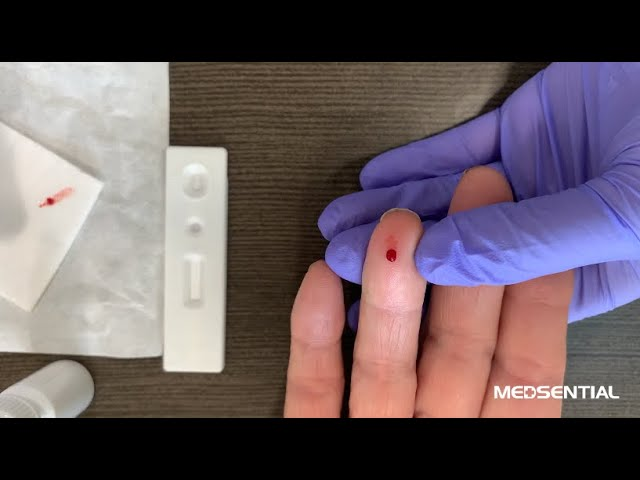 Using the CE Approved Covid-19 Rapid Test Kit