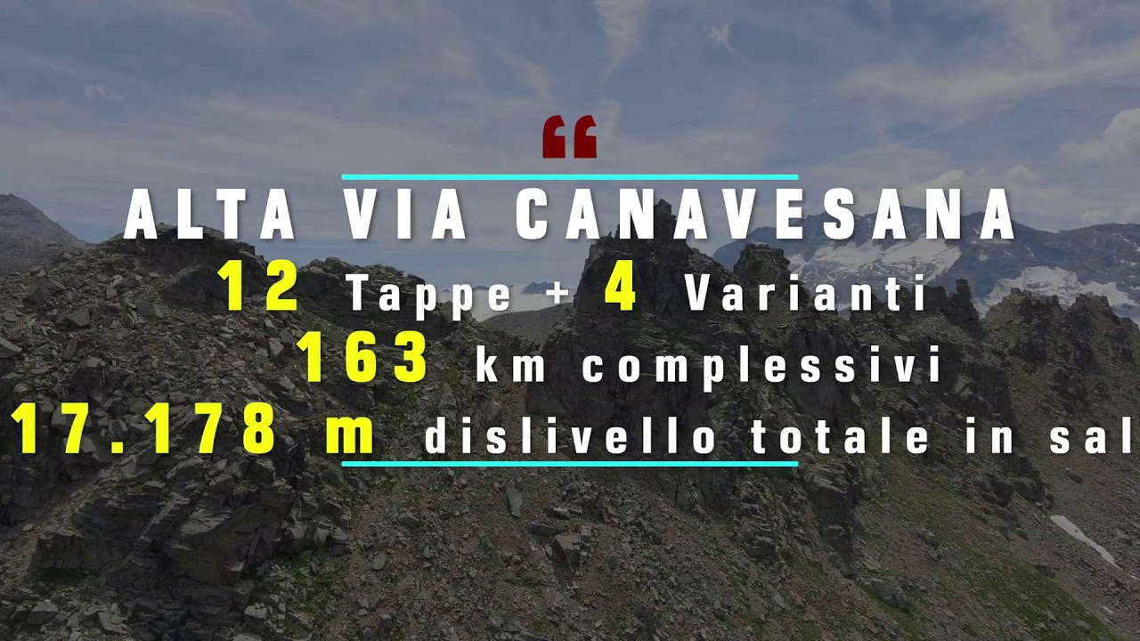 Alta Via Canavesana   Parco Nazionale Gran Paradiso