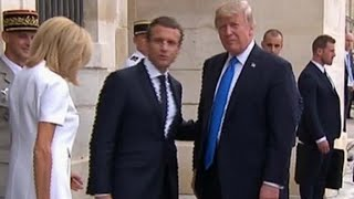 Trump meets French President Macron