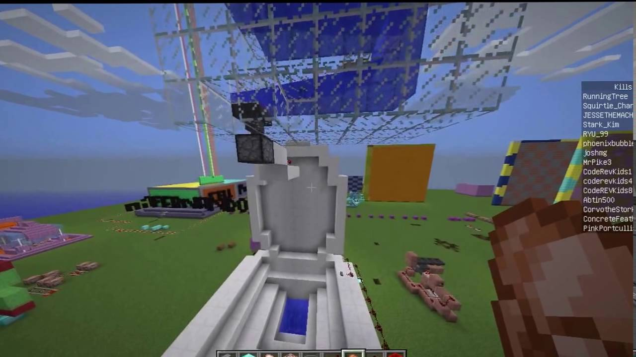 The Digestive System In Minecraft YouTube - Minecraft hauser videos