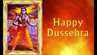 Happy Dussehra wishes | SMS Message | Greetings | Whatsapp Video | Jai Sri Ram 2017
