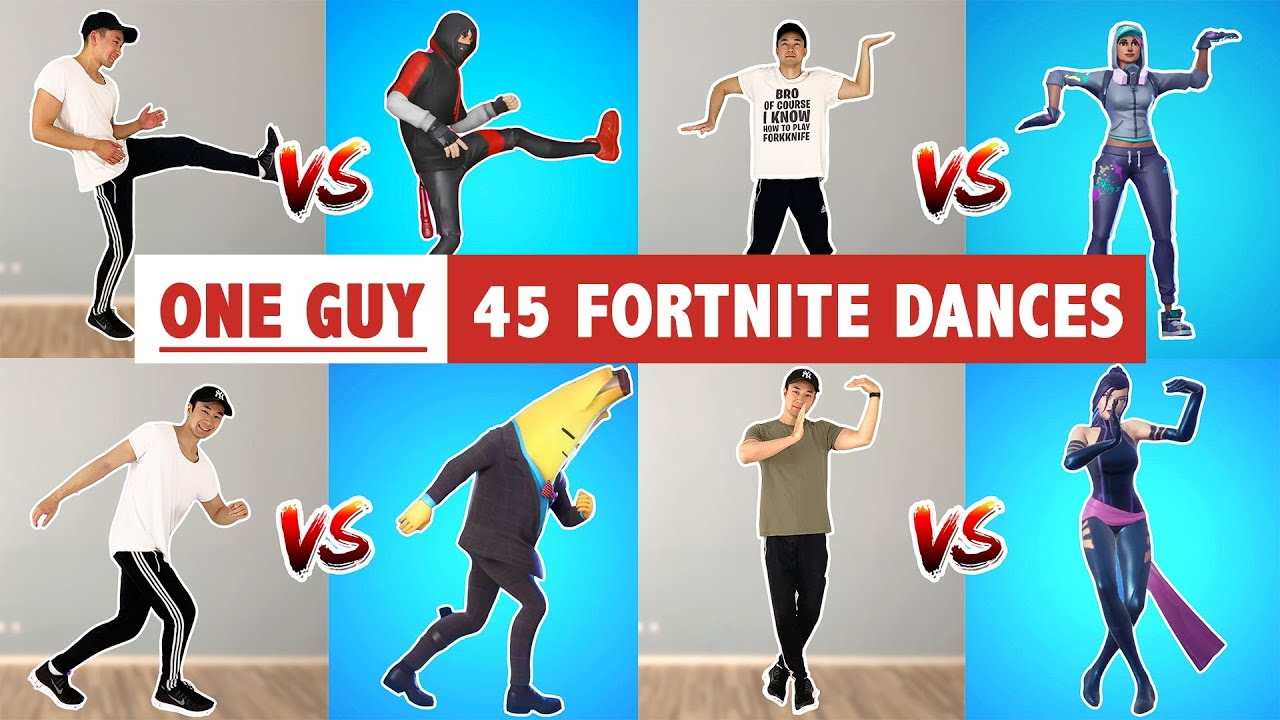 FORTNITE DANCES IN REAL LIFE (BEST FORTNITE DANCES)