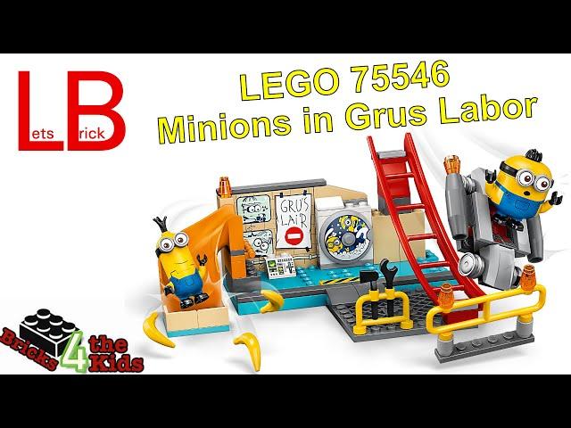 LEGO 75546 Minions in Grus Labor