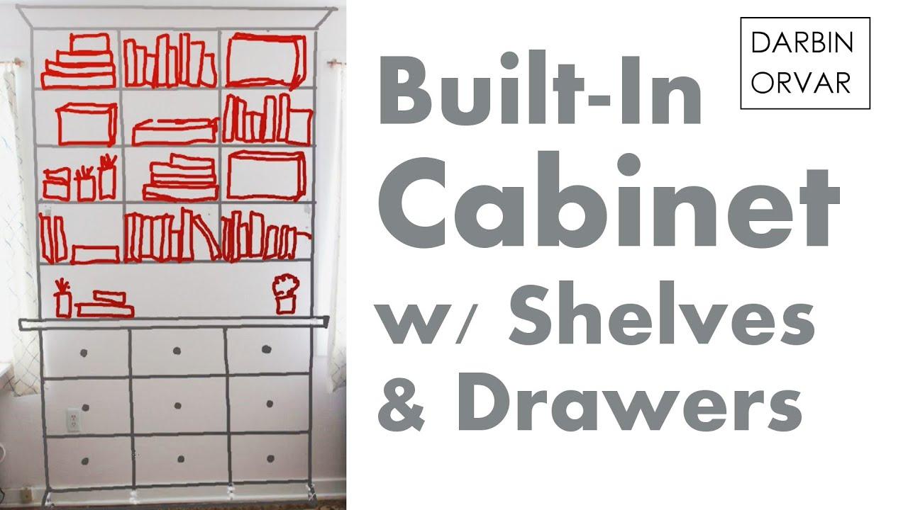 Built In Cabinet Series Pt 1: Preparing U0026 Planning | Darbin Orvar