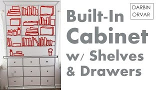 Darbin Orvar Built-in Cabinet Series Pt 1: Preparing & Planning