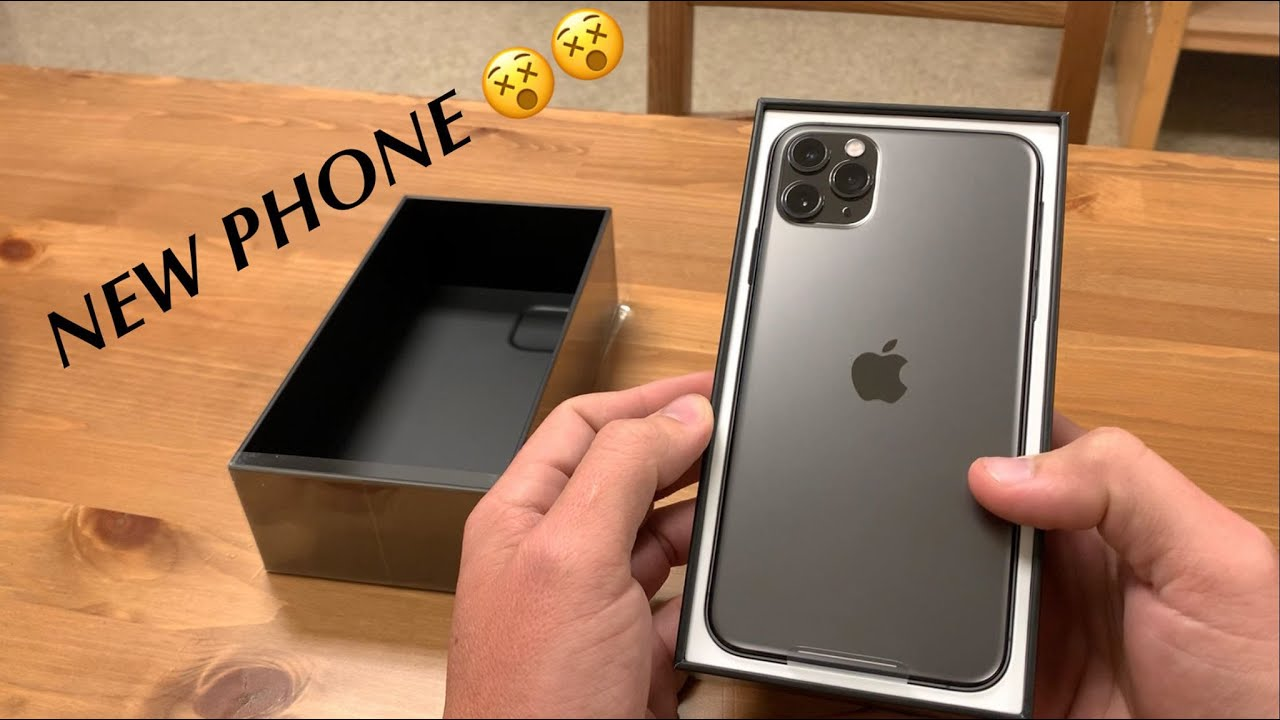 IPHONE 11 PRO MAX UNBOXING / REVIEW (MY SETUP)