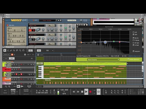 Reason 11.2 | Sound selection with Layers Wave Edition
