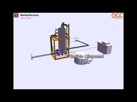 QGC well site animation