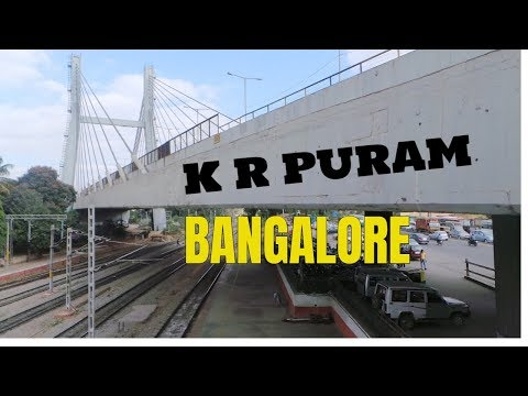 Hanging Bridge K R Puram Bangalore | Bengaluru Railway Stations | Iconic Bridges | KR Puram bridge