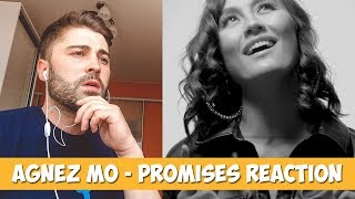 AGNEZ MO - PROMISES lyrics | REACTION