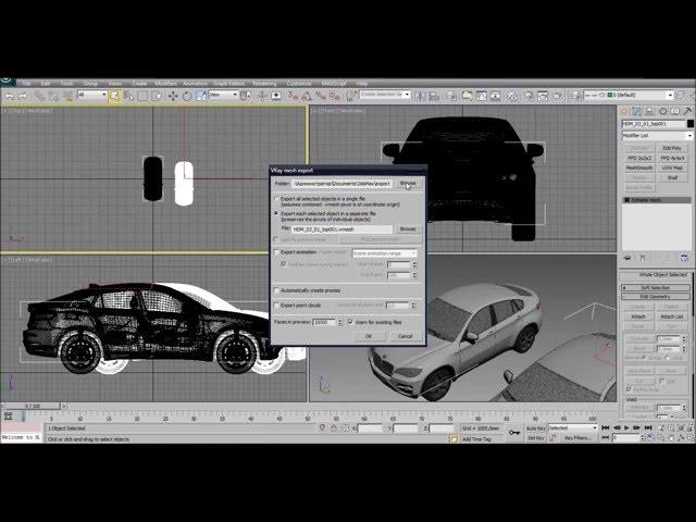 3D max. Создаём Proxy-объект для облегчения сцены в 3D max. Проект Ильи Изотова.