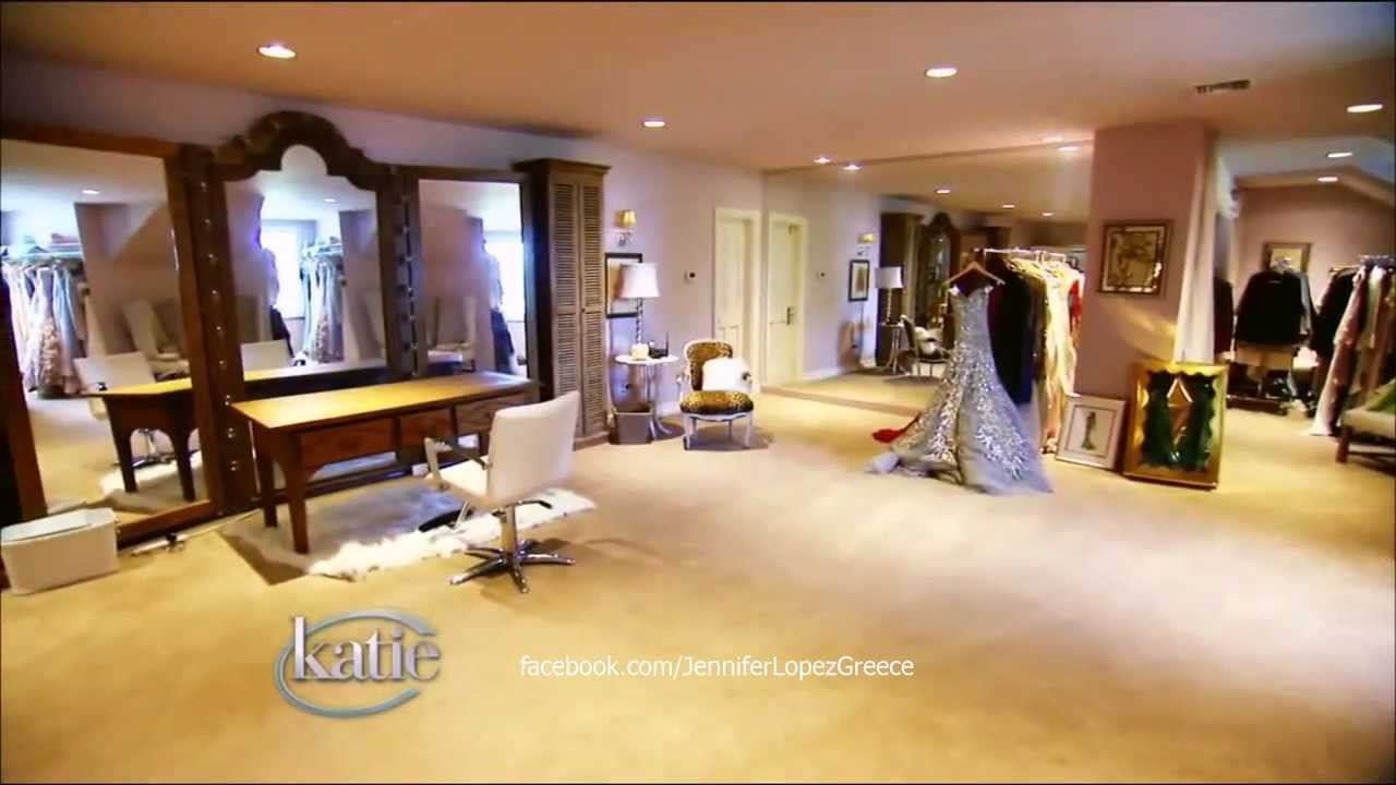 Jennifer Lopez S Dressing Room Katie Couric Show 14 9 12 Hd Youtube