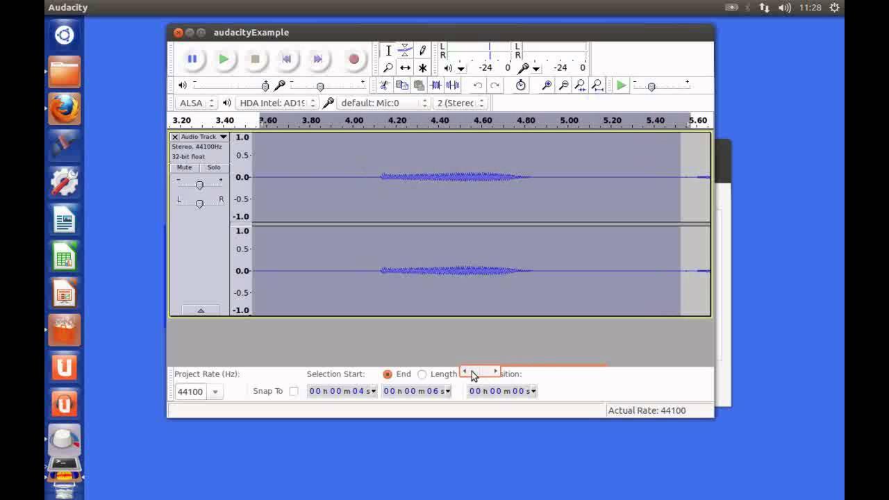 Basic Audio Recording & Editing with Audacity