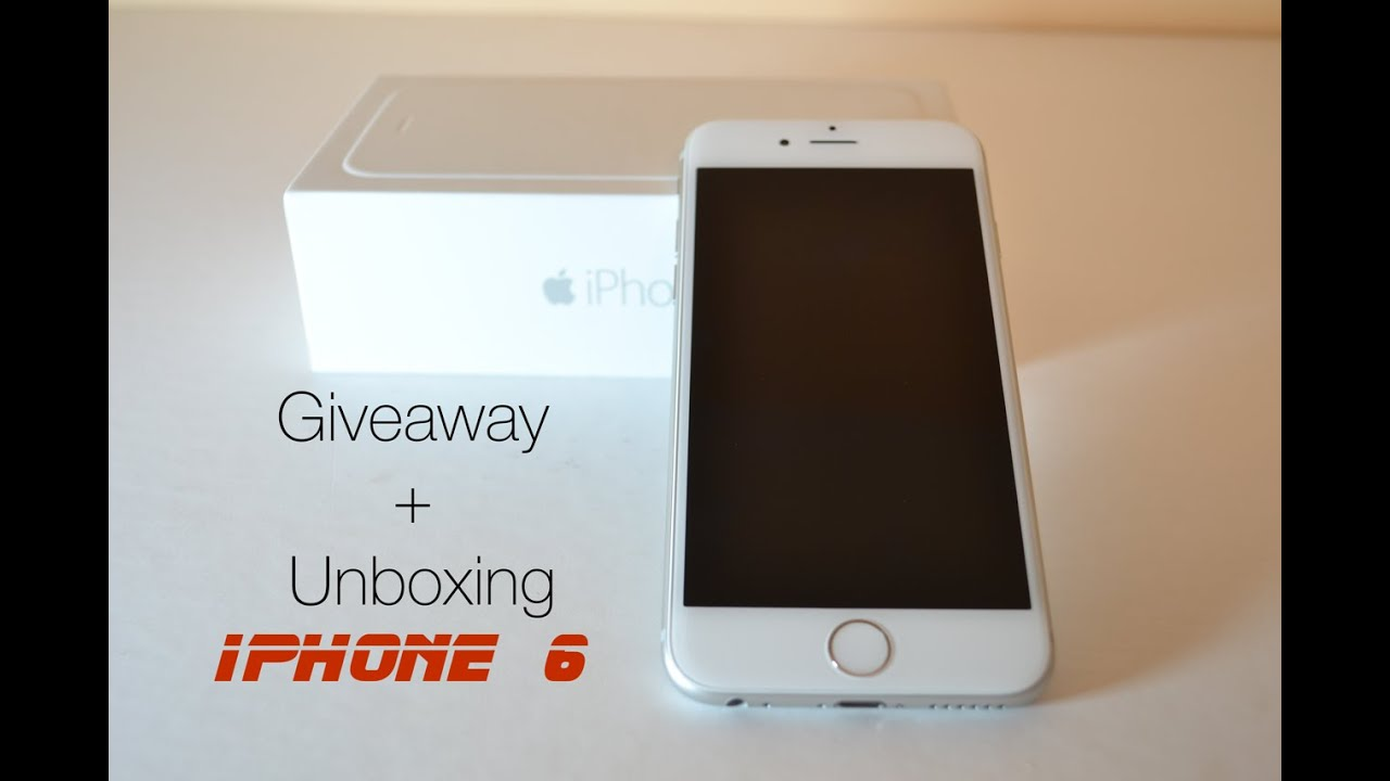 iphone 6 giveaway iphone 6 unboxing amp giveaway 11336