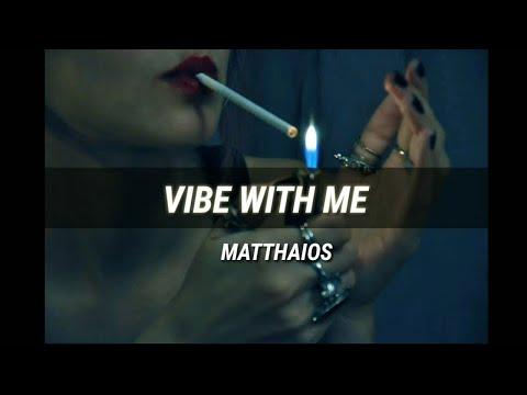 Matthaios - Vibe With Me (Lyric Video) ft. Lonezo