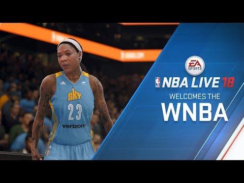 The WNBA Joins NBA LIVE 18