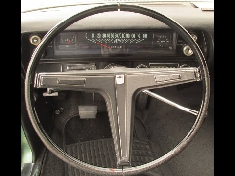 1968 Chevy II Nova Steering Wheel Modification RPO N30 ...
